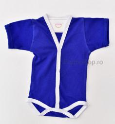 Body Nou Nascut - maneca scurta (albastru)