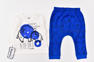 Trening Elefantei (albastru)