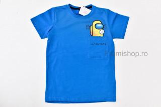 Tricou Among (albastru)