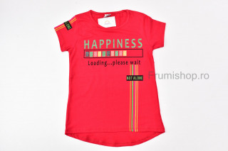 Tricou Happiness (rosu)