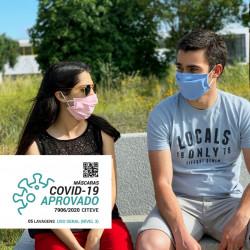 Máscara Reutilizável Certificada