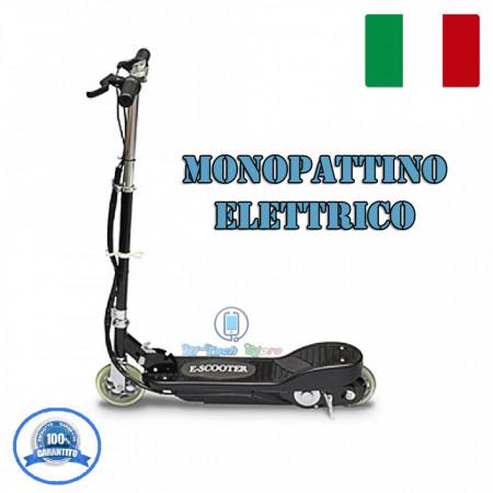 MONOPATTINO ELETTRICO PIEGHEVOLE E-Scooter NERO DA 120W Eco 2020