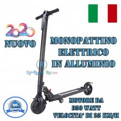 MONOPATTINO ELETTRICO PIEGHEVOLE SCOOWAY NERO DA 350W FINO A 25 KM/h Eco 2020