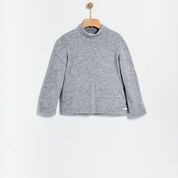 Bluza crosetata gri