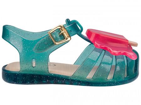 Sandale Mini Melissa Aranha Green