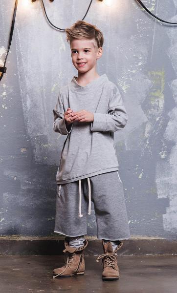 Bluza UNISEX Grey Marl BOOSO