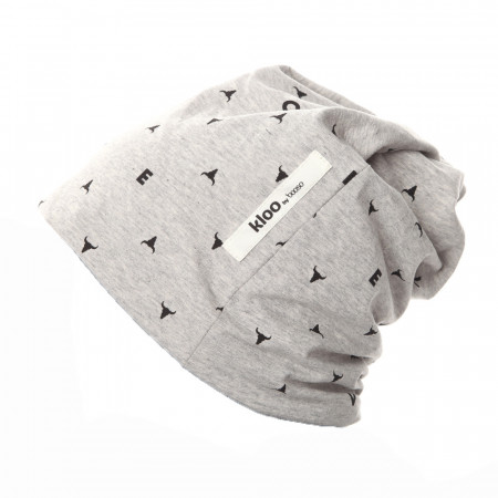 Caciula UNISEX MINI Grey Print BOOSO