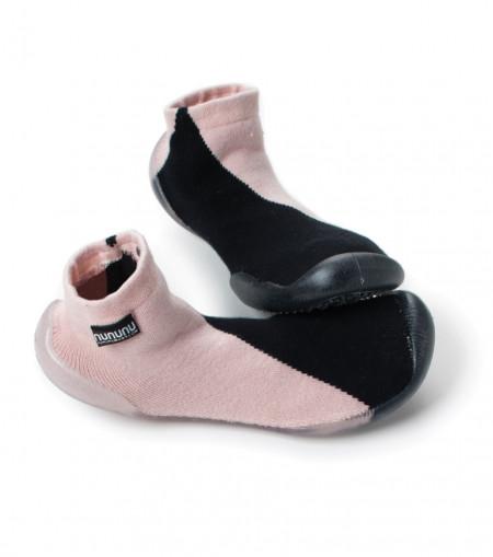 Sosete 1/2 Black/Pink NuNuNu