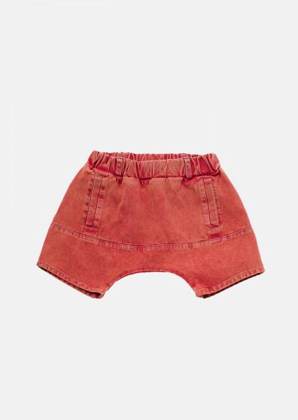 Pantaloni scurti ACID rosu cu buzunar frontal