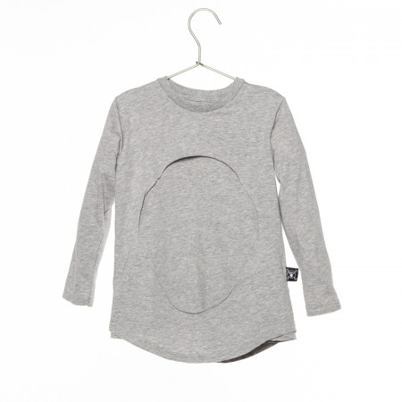 Bluza LAYERED CIRCLE Grey NuNuNu