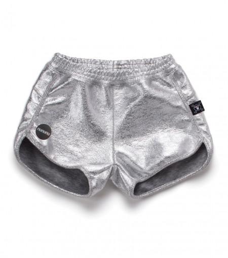 Pantaloni Scurti Fete Silver Nununu