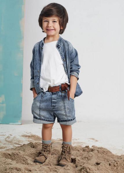 Pantaloni scurti Jeans Booso