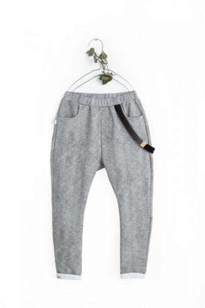 Pantaloni Herringbone