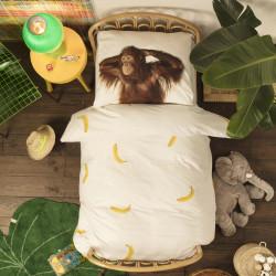 Husa pilota si fata perna Banana Monkey