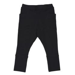 Pantaloni Tricot Black Gugguu