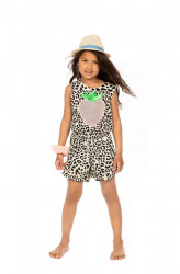 Salopeta animal print Columbia