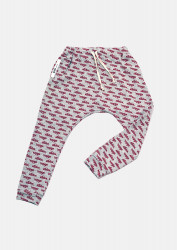 Pantaloni gri imprimeu Atletico