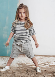 Pantaloni scurti Sea Grey Booso