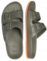 Sandale/papuci Brazilia kaki&orange