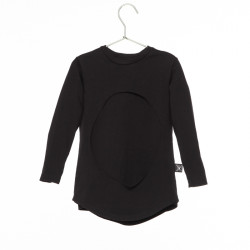 Bluza LAYERED CIRCLE Black NuNuNu