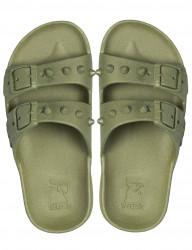 Sandale/papuci Sao Paolo kaki TEEN