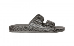 Sandale/papuci Zebra gri