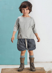 Tricou Basic Grey Booso