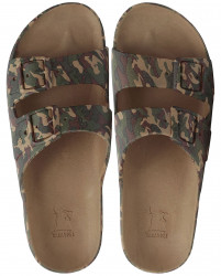 Sandale/papuci Fortaleza kaki