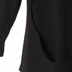 Bluza LAYERED CIRCLE Black NuNuNu