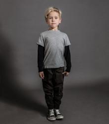 Pantaloni cargo cu buzunar lateral