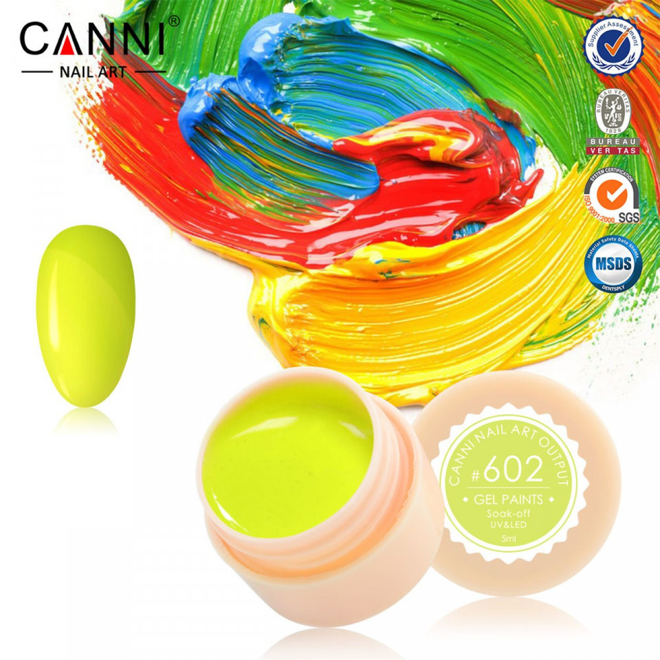 Gel color CANNI 5ml 602 baseone.ro