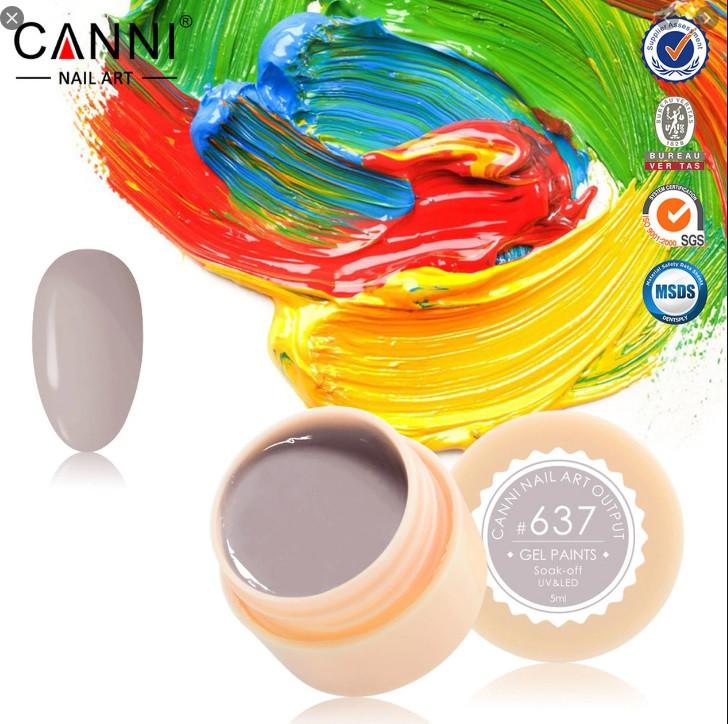 Gel color CANNI 5ml 637 baseone.ro