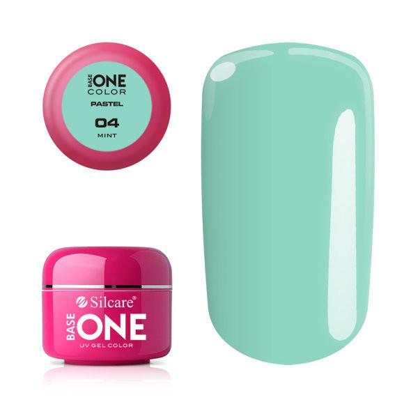 Gel UV Color Base One 5g Pastel 04 Mint baseone.ro