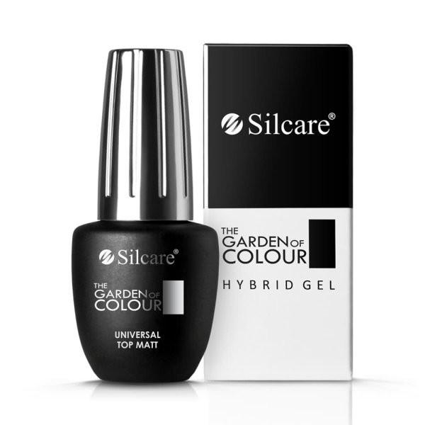 Top Coat MATT Silcare Base One -The Garden Of Colour 9g baseone.ro