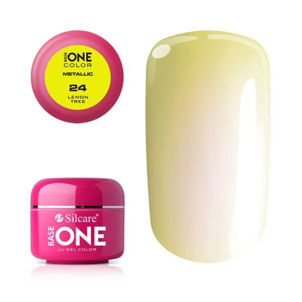 Gel UV Color Base One 5g Metalic Lemon Tree 24 baseone.ro