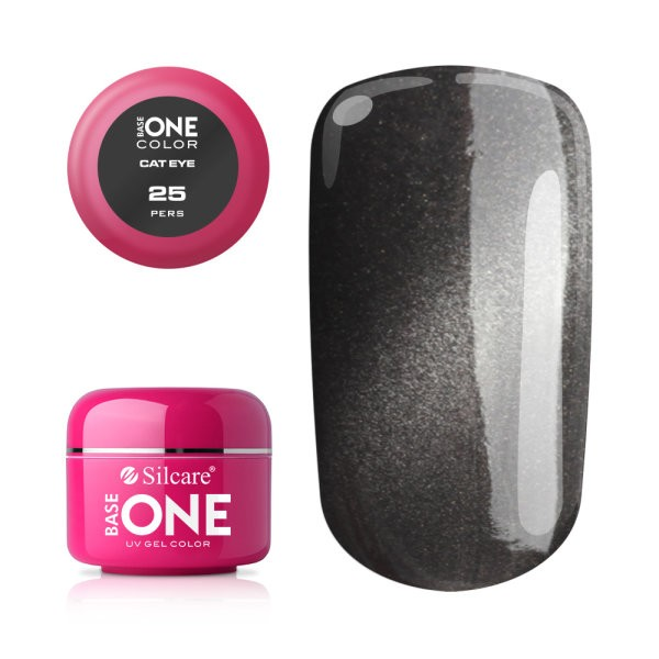Gel UV Color Base One Silcare Cat Eye Magnetic Pers 25 baseone.ro