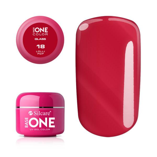 Gel uv Color Base One Silcare Glass Lolli Pop 18 baseone.ro