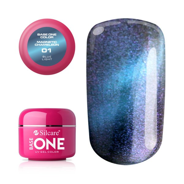 Gel UV Color Base One Silcare Magnetic Chameleon 01 baseone.ro