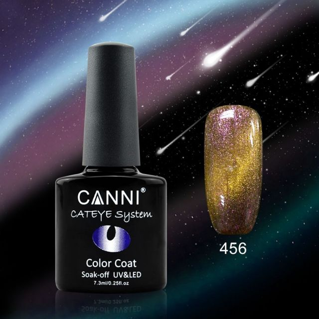 Oja Semipermanenta CANNI CAMELEON-CAT EYES 7,3ml-456 imagine