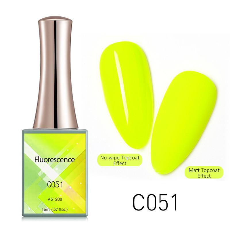 Oja Semipermanenta CANNI Fluorescenta 16ml C051 baseone.ro