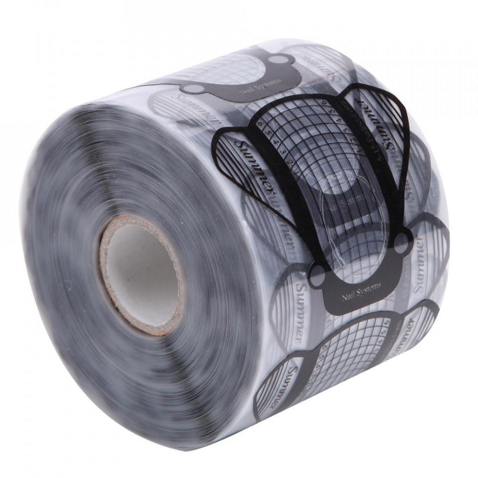Sabloane pentru constructie unghii Plastifiate PVC 500buc baseone.ro