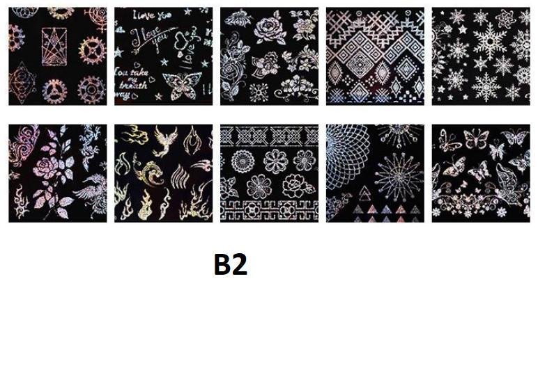 Set 10 folii de transfer Conny's B2 baseone.ro