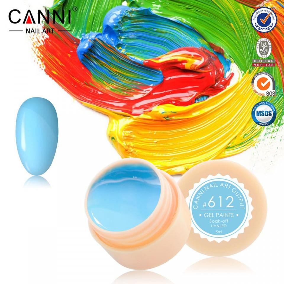 Gel color CANNI 5ml 612 baseone.ro