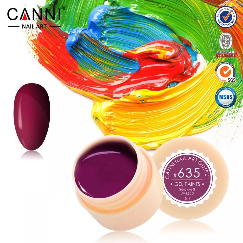 Gel color CANNI 5ml 635 baseone.ro