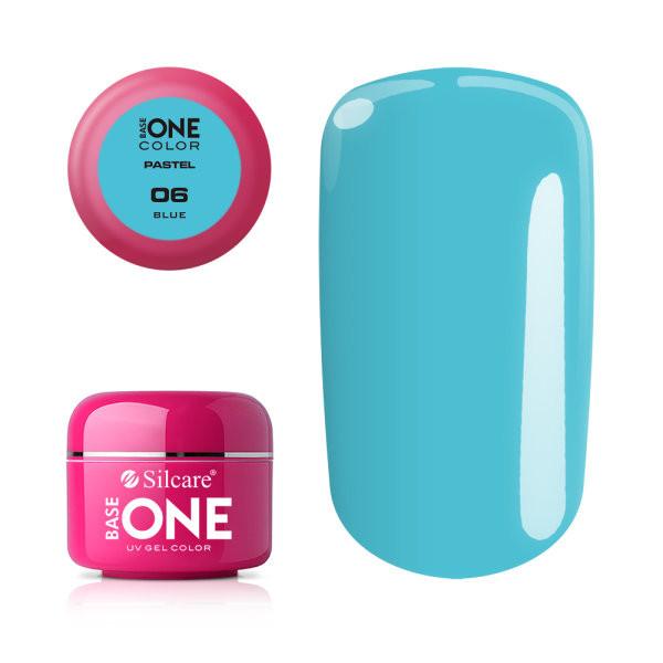 Gel UV Color Base One 5g Pastel 06 Blue baseone.ro