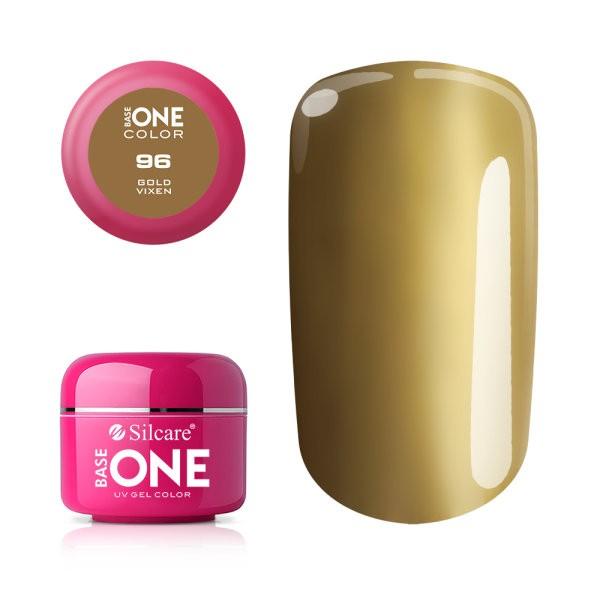 Gel uv Color Base One Silcare Clasic Gold Vixen 96 baseone.ro