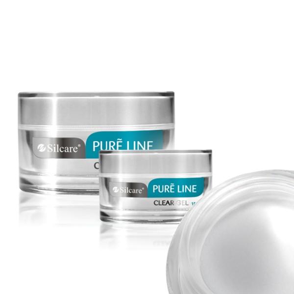Gel UV Constructie Silcare Pure Line Clear-Transparent 15g baseone.ro