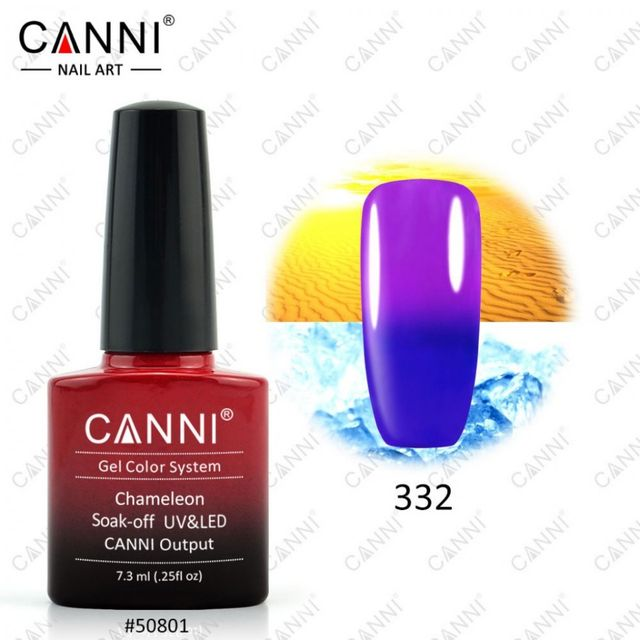 Oja Semipermanenta Cameleon CANNI 7.3ml-332 baseone.ro
