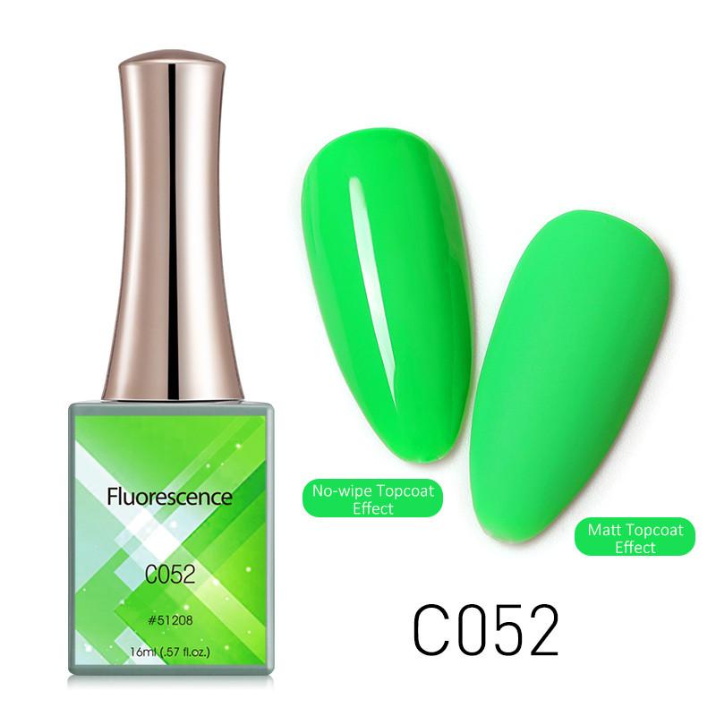 Oja Semipermanenta CANNI Fluorescenta 16ml C052 baseone.ro