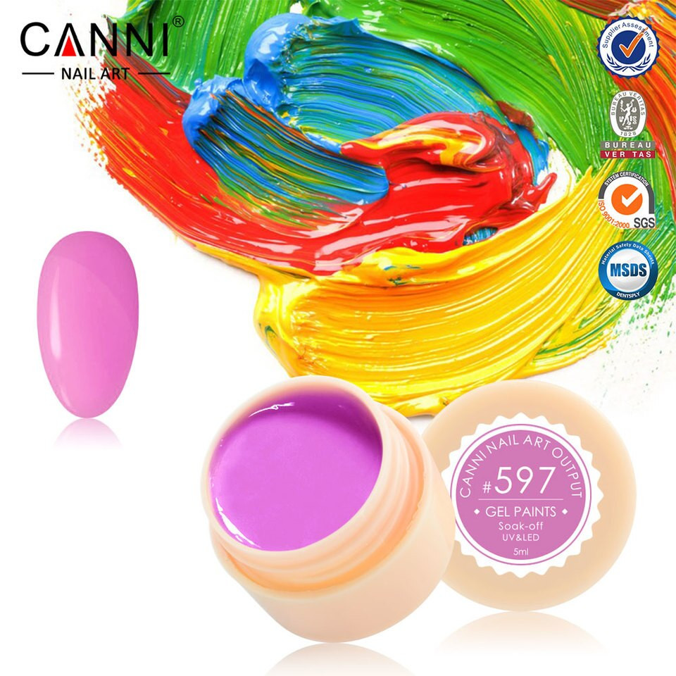 Gel color CANNI 5ml 597 baseone.ro